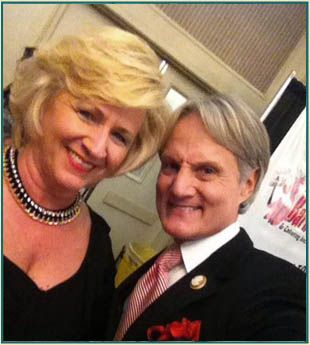 Ingrid Hodges with Monte Durham fromTLC's Say Yes to the Dress-Atlanta