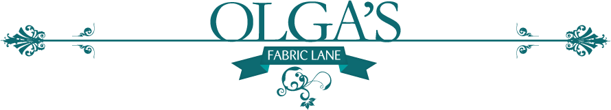 Olga's Fabric Lane Logo
